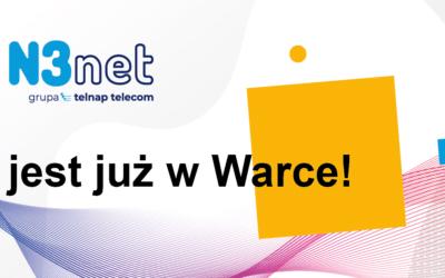 Nowe Biuro N3net w Warce